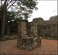 Puits et vestiges des remparts de Sant Martí d'Empúries (Saint-Martin-d'Empurias en castillan) ..JPG