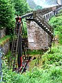 Pump mechanism operated by the Laxey Wheel - geograph.org.uk - 476326.jpg