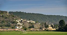 The village of Puy-Saint-Martin