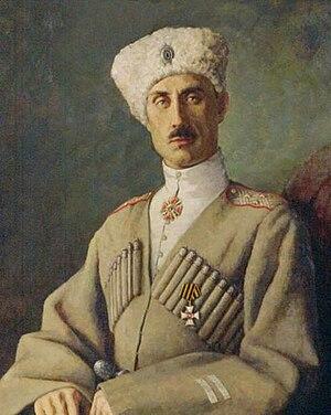 Pyotr Nikolayevich Wrangel - Pyotr Wrangel, c.1920