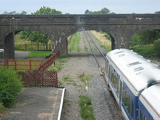 Quainton Road railway station - Image: Quaintain Road End of the line