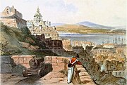 Quebec from the Chateau, John Richard Coke Smyth, 1835