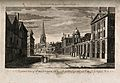 Queen's College, Oxford; showing panoramic view of All Souls Wellcome V0014151.jpg
