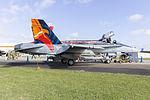 RAAF (A21-23) 'Worimi' McDonnell Douglas FA-18A Hornet on display at the 2015 Australian International Airshow.jpg