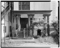 REAR PORCH, NORTH SIDE. Taken August 1977. - John Rutledge House, 116 Broad Street, Charleston, Charleston County, SC HABS SC,10-CHAR,123-10.tif