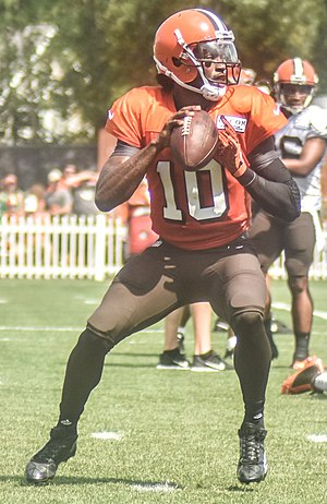 2016 Cleveland Browns season - Robert Griffin III at Browns training camp