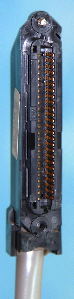 Registered jack - Female RJ21 connector