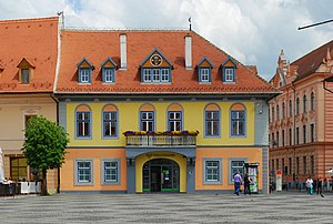 Germans of Romania - Lutsch house, the seat of the DFDR/FDGR in Sibiu (Hermannstadt)