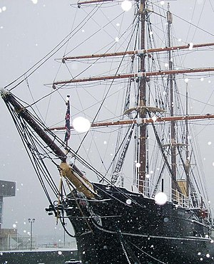 RRS Discovery English: Museum ship RRS Discove...