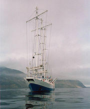 RV Oceania, research sailing vessel of Polish Academy of Science