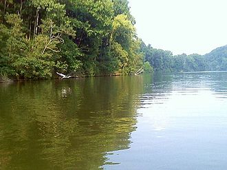 Raccoon Creek State Park - Raccoon Lake