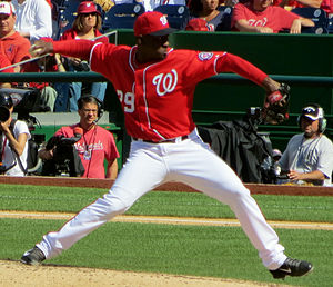 Rafael Soriano - Soriano with the Washington Nationals in 2014