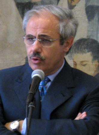 Movement for the Autonomies - Raffaele Lombardo, the party's leader.