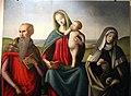 Raffaello piccinelli (attr.), madonna col bambino tra i ss. girolamo e verdiana, 1500-25 ca. da s. girolamo a pietrafitta 02.JPG