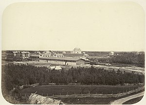 Uglovka, Novgorod Oblast - Uglovka in the 1860s