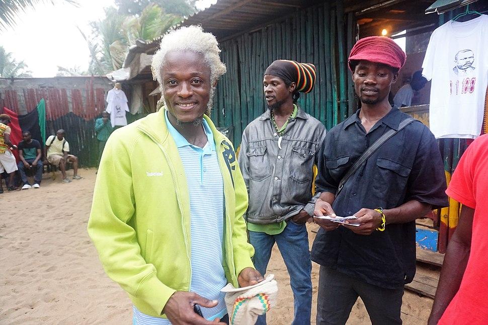 Rastafarians celebrate Marcus Garvey