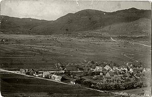 Podgora pri Ložu - 1930 postcard of Podgora pri Ložu