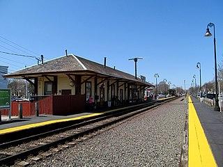 Reading station (MBTA) railway station in Massachusetts