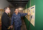 Rear Adm. Terry B. Kraft, commander of U.S. Naval Forces Japan, meets with Vice Admiral Masanori Yoshida, Japanese Maritime Self Defense Force (JMSDF) Sasebo District Commandant 10987632574 f7a67c6531 o.jpg