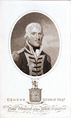 Rear admiral george murray