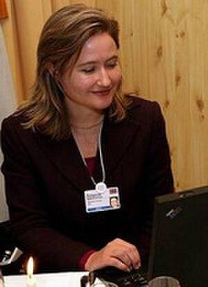 Rebecca MacKinnon - Rebecca MacKinnon blogging