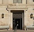 Red Willow County, Nebraska courthouse E entrance.JPG