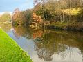 Reflections in the Leeds and Liverpool Canal, Shipley (2217305660).jpg