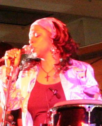Regina Belle - Belle in concert on the Holland America Line Ship, 2008.