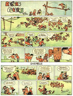 Reg'lar Fellers - Gene Byrnes' page with Reg'lar Fellers and Daisybelle  (December 11. 1938)