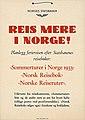 """Reis mere i Norge! Planlegg feriereisen efter Statsbanens reisebøker- """"Sommerturer i Norge 1933"""", """"Norsk reisebok"""", """"Norske reiseruter"""" (14103313719).jpg"""