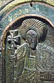Relief Carving of Saint, Church of Bet Golgotha, Lalibela, Ethiopia (3238129138).jpg