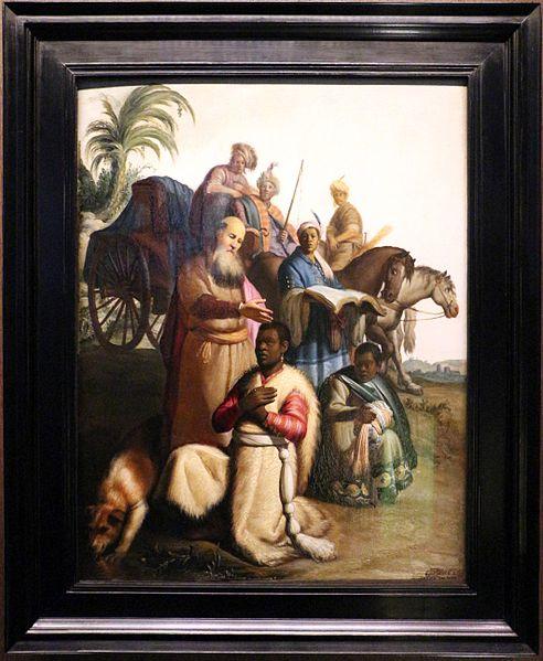 File:Rembrandt, Battesimo dell'eunuco, 1626, 01.jpg