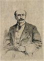 René Blache. Etching by E. van Muyden. Wellcome V0000566.jpg