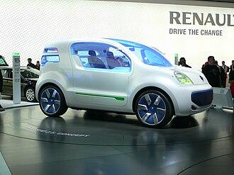 Renault Z.E. - Image: Renault Kangoo Z.E. Concept