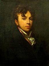 Moritz Retzsch, Selbstporträt (Quelle: Wikimedia)
