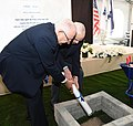 Reuven Rivlin at the laying of the cornerstone of the new building of the Mandel Foundation-Israel, Jerusalem, October 2017 (6652).jpg