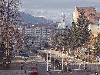 Comănești - Image: Revelion 2004 2005 017