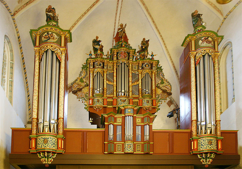 Les orgues (instrumentS) - Page 2 800px-Ribe_domkirke_orgel