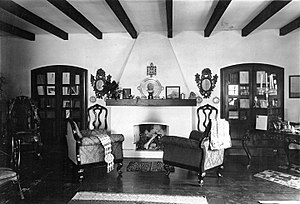 Ricardo Güiraldes - A room of the Güiraldes' house in San Antonio de Areco, currently a gaucho museum.