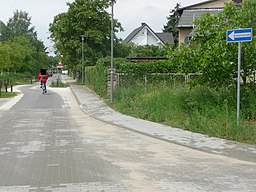 Richard-Wagner-Straße, Blick in Richtung West (zur Beethovenstraße). Früherer, unvollständiger Zustand der Beschilderung - panoramio