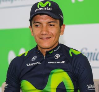 Richard Carapaz Ecuadorian bicycle racer