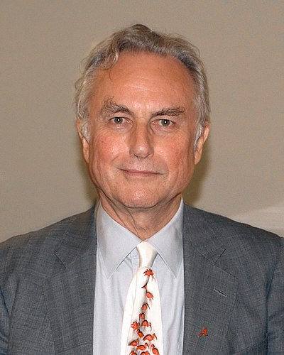 Picture of an author: Richard Dawkins