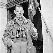 Richard Gale in Normandy June 1944 IWM B 5352