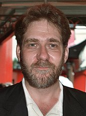 Richard Masur na premierze Air America w 1990