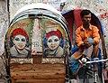 Ricksha Driver and Vehicle - Old City - Dhaka - Bangladesh (12850561743).jpg