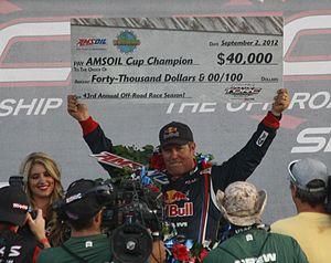 Ricky Johnson - Image: Ricky Johnson wins 2012 AMSOIL Cup