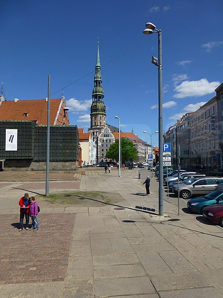 File:Riga – Tower of St. Peter's Church - Tornis St Pētera baznīca - panoramio.jpg