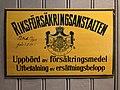 Riksförsäkringsanstalten- skylt Postmuseum.jpg