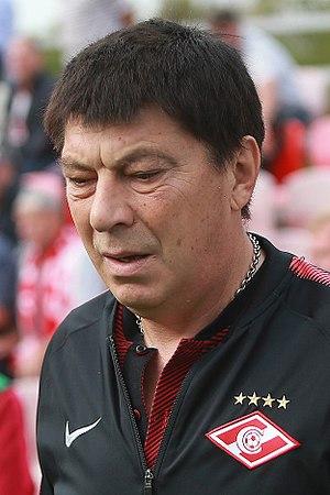 Rinat Dasayev - Dasayev coaching Spartak-2 in 2017