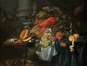 Pieter de Ring - Still Life with a Golden Goblet - c. 1650.